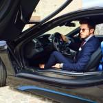 Marco Taddei BMW i8 & L'Avvocato
