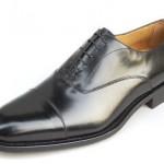 Scarpa classica Oxford nera da tight.