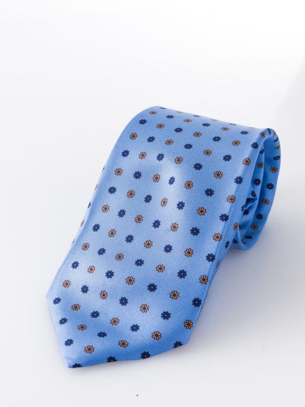 Cravatta sette pieghe - Margherita Celeste