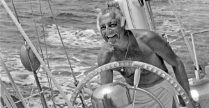 Gianni Agnelli in barca