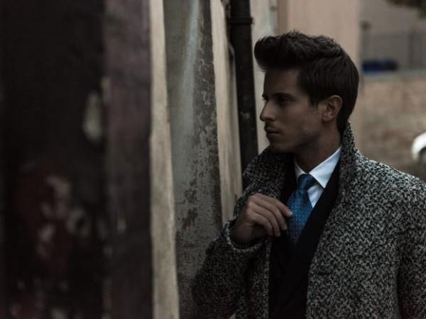 Simply Mr. T indossa la cravatta settepieghe Aniceta de L'Avvocato