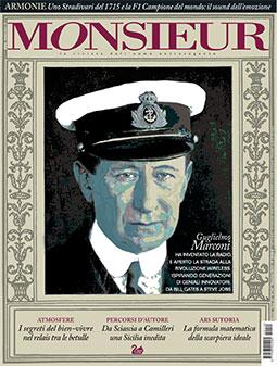 """Monsieur"", la rivista dell'uomo extravagante - copertina n.140 Novembre 2014"