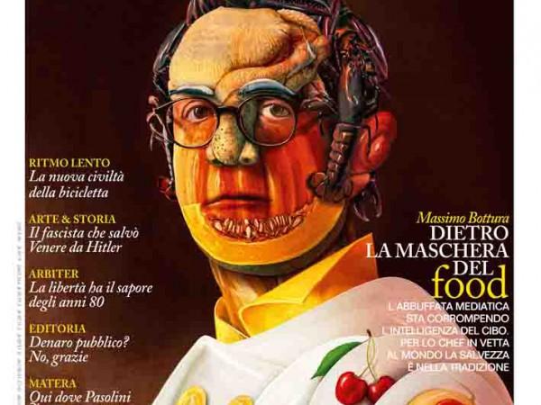 """Monsieur"", la rivista dell'uomo extravagante - copertina n.134 Maggio 2014"