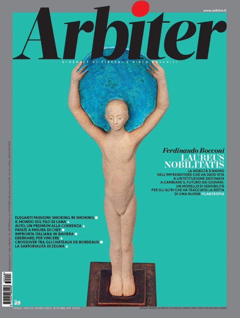 Arbiter-Giornale di Piacere e Virtù Maschili - Copertina n. 150, Settembre 2015