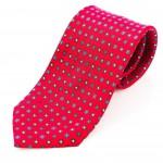 Cravatta Sette Pieghe Marella Rosso Fuoco