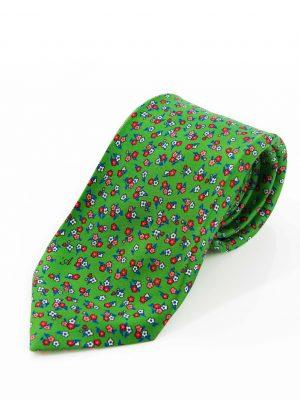 Cravatta Sette Pieghe Marella Verde Pastello Scuro