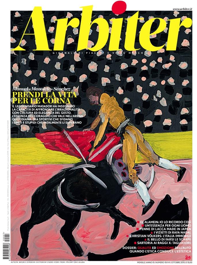 Arbiter-Giornale di Piacere e Virtù Maschili - Copertina n. 151, Ottobre 2015