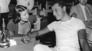 Gianni Agnelli con la Marchesa Cattaneo in una foto del 1948
