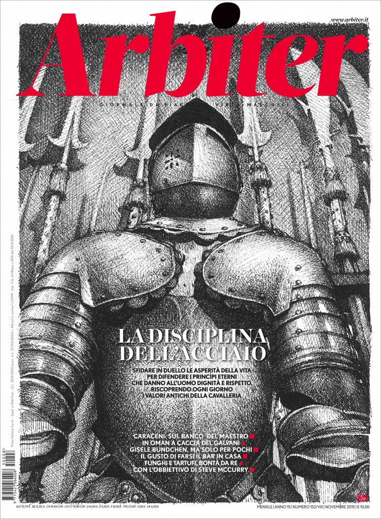 Arbiter-Giornale di Piacere e Virtù Maschili - Copertina n. 151, Novembre 2015