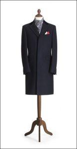 Il Crombie: classico cappotto inglese caldo da città.