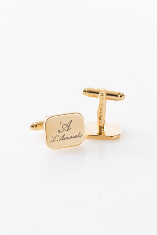 PIANO Golden – cufflinks