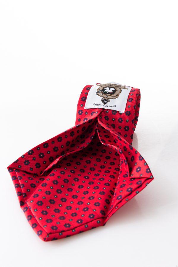 Seven-fold Tie – Clara Rosso – seven-fold detail