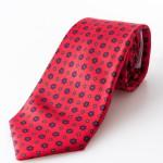 Cravatta sette pieghe - Clara Rosso