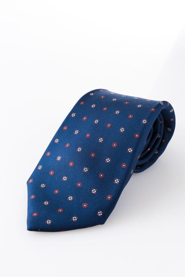 Cravatta sette pieghe - Susanna Blu