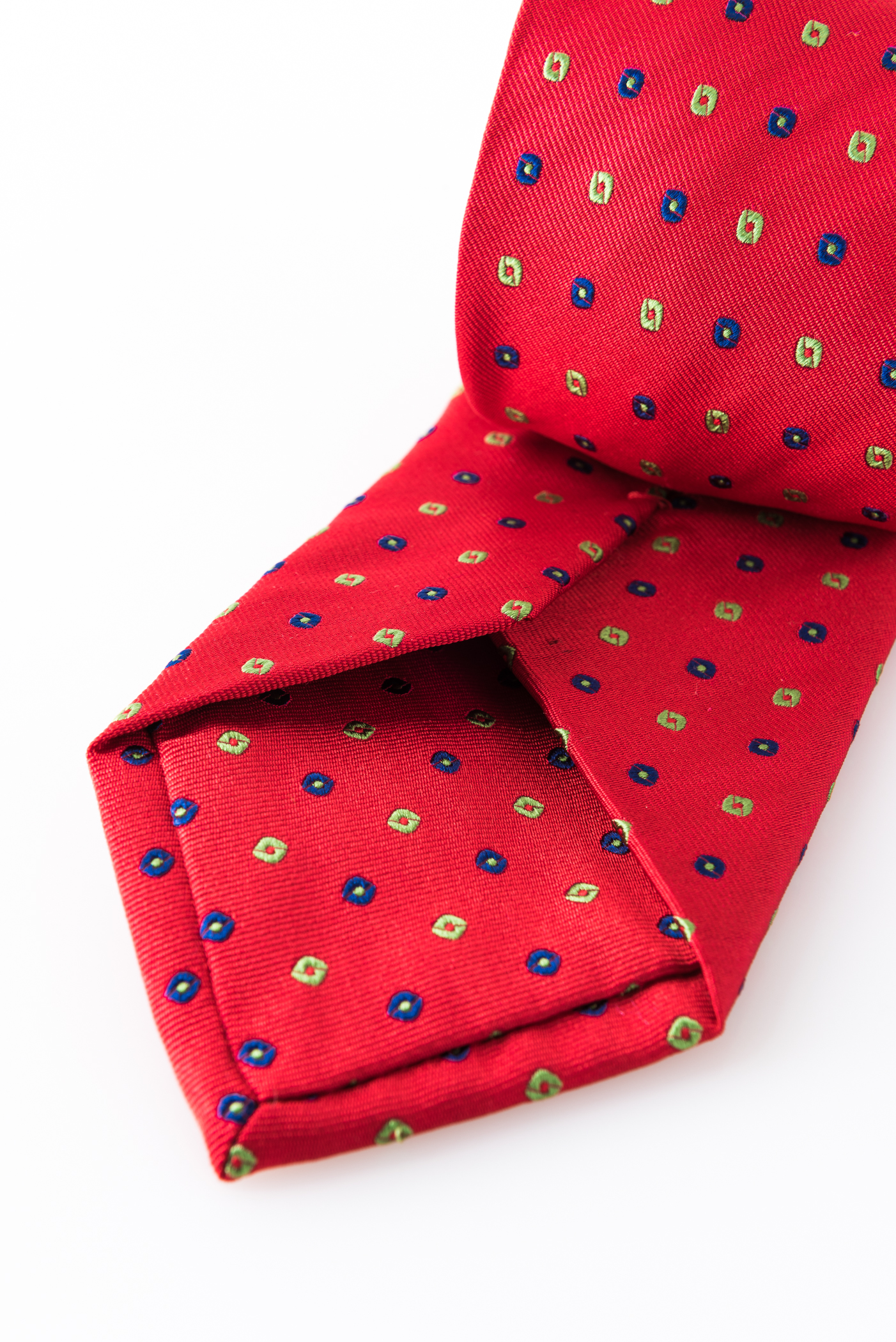 Lined Tie – Lapo Rosso – detail