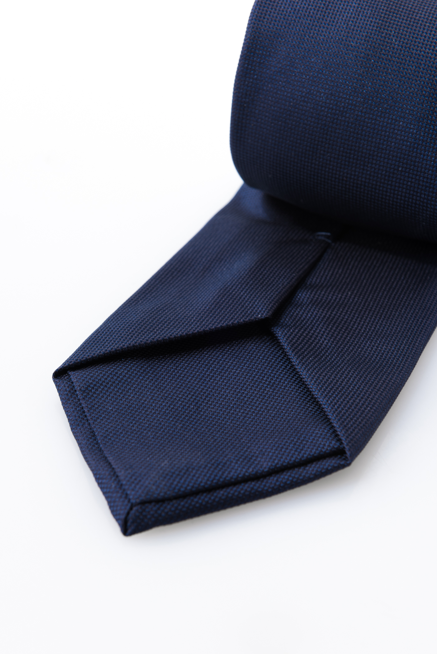 Lined Tie – Gianni Blu – detail