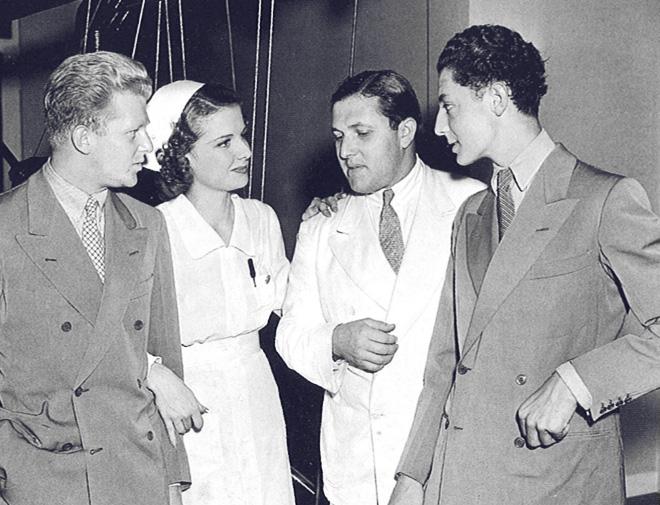 Gianni Agnelli e Giovanni Nasi nel corso del primo viaggio negli Stati Uniti nell'estate del 1939.