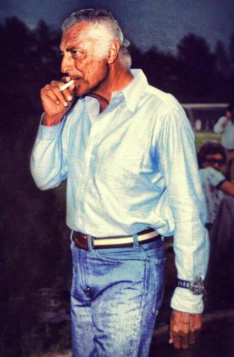 Gianni Agnelli in veste casual