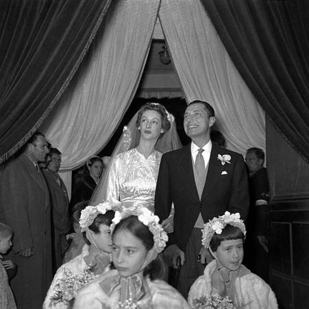 Gianni e Marella Agnelli: matrimonio.