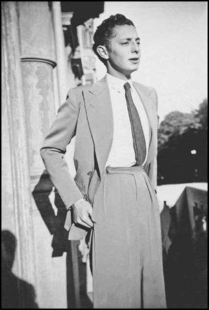 Un giovanissimo Giovanni Agnelli.