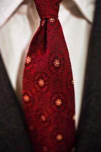 Il primo passo sulle orme dell'eleganza - dettaglio cravatta