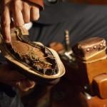 Il primo passo sulle orme dell'eleganza -dettagli lavorazione scarpa