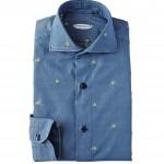 Vincenzo di Ruggero: camicia 12 passaggi a mano, 100% cotone