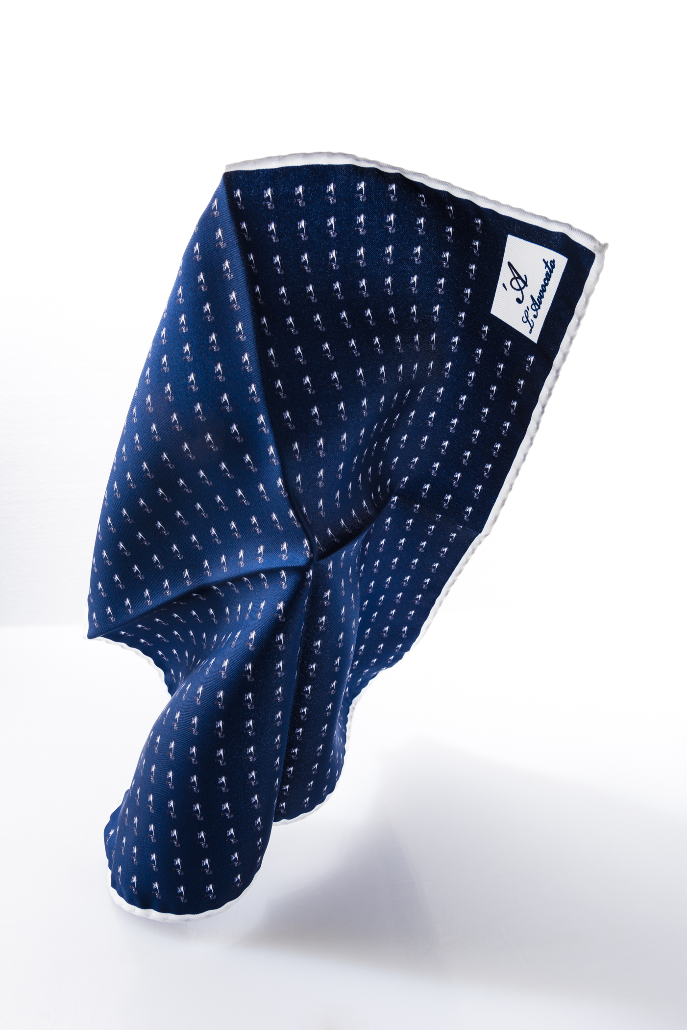 Pocket square MIRAFIORI- LAMBRETTA