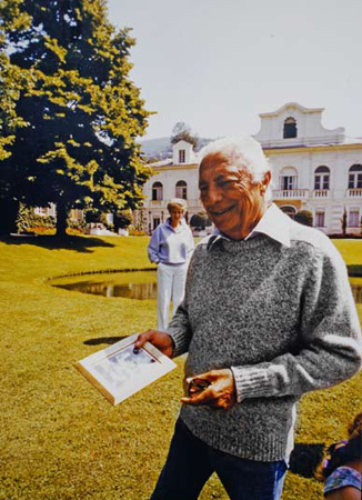 Giovanni Agnelli and his wife Marella in Turin in 1986