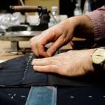 Sartoria Rubinacci - dettaglio lavorazione artigianale
