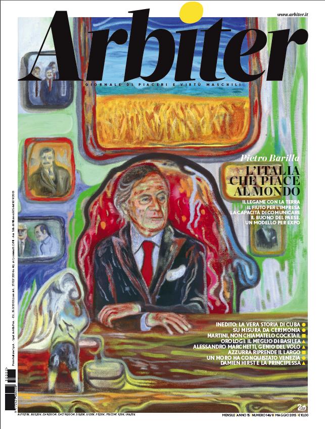 Arbiter-Giornale di Piacere e Virtù Maschili - Copertina n. 146. Maggio 2015