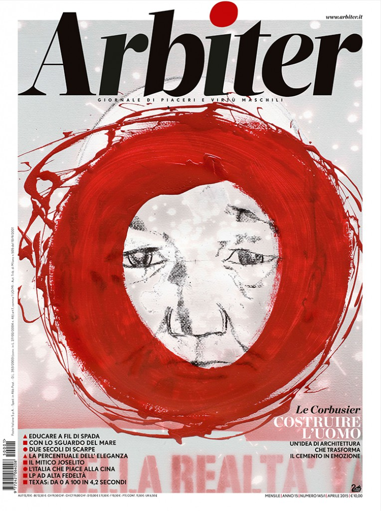 Arbiter-Giornale di Piacere e Virtù Maschili - Copertina n. 145. Aprile 2015