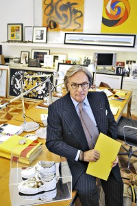 Milan, November the 5th, 2008 - Diego Della Valle, Ceo of  Tod's S.p.A. >< Milano, 5 novembre 2008 - Diego Della Valle, amministratore delegato di Tod's S.p.A.
