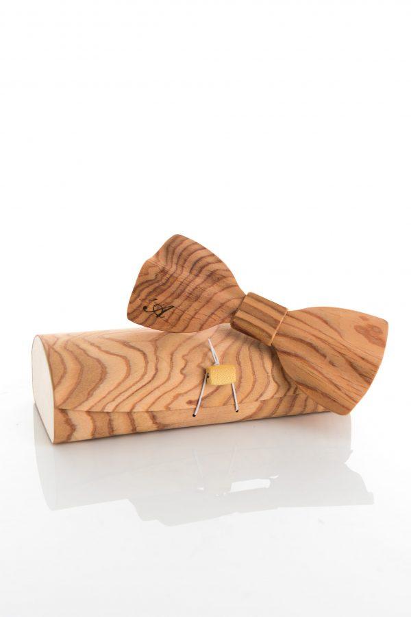 Brando - Papillon in legno ed astuccio