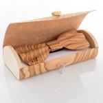 Brando - Papillon in legno nel suo astuccio coordinato