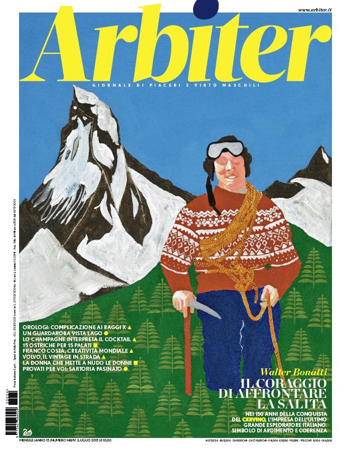 Arbiter-Giornale di Piacere e Virtù Maschili - Copertina n. 199, Luglio 2015