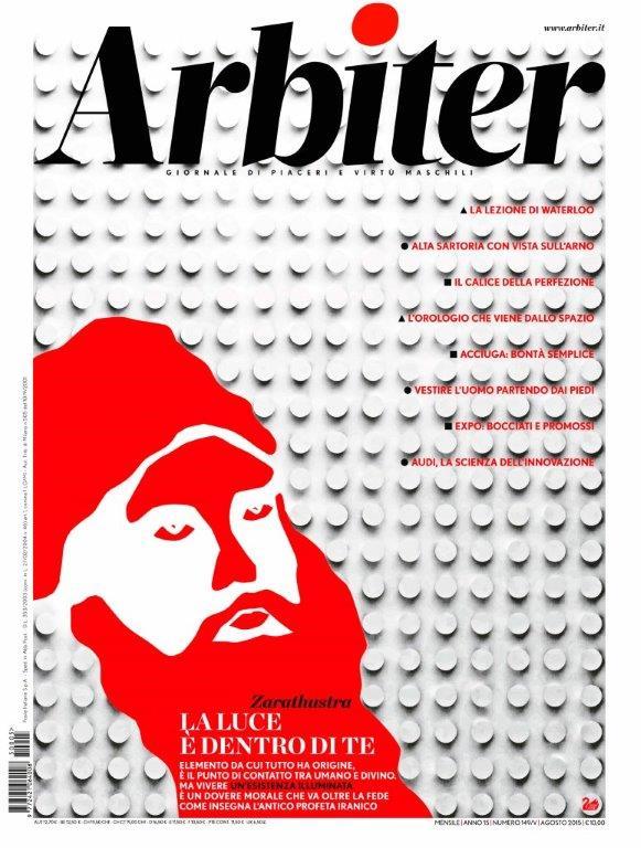 Arbiter-Giornale di Piacere e Virtù Maschili - Copertina n. 149, Agosto 2015