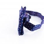 Papillon Tassilo Blu Zaffiro- dettaglio laterale