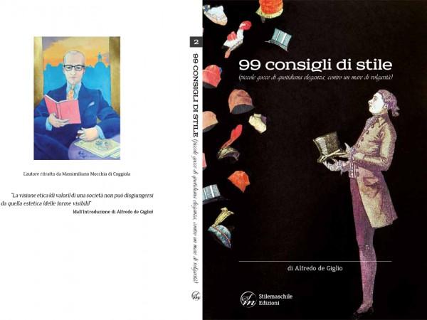 """Copertina di """" 99 consigli di stile """" di Alfredo de Giglio"""