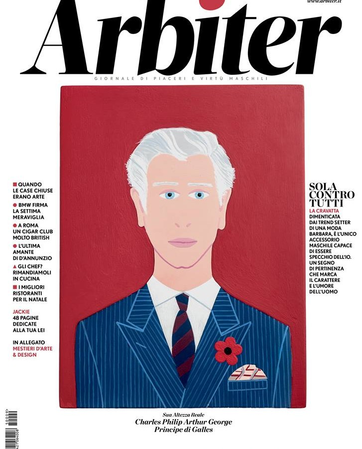 Arbiter-Giornale di Piacere e Virtù Maschili - Copertina n. 153, Dicembre 2015